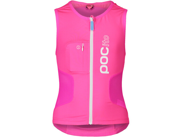 POC POCito VPD Air Chaleco protector Niños, fluorescent pink